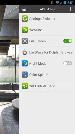 海豚浏览器 v11.3.3 安卓版界面图1