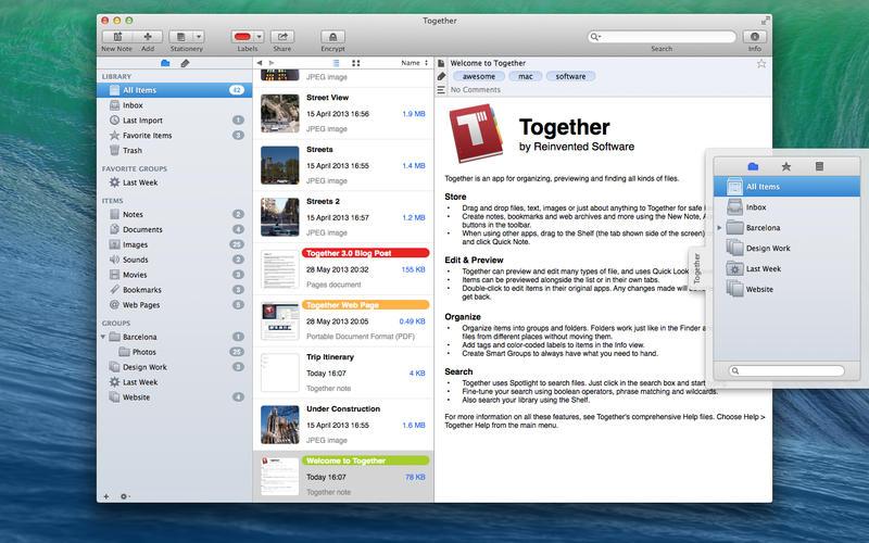 Together v3.6.1 Mac免费版界面图1