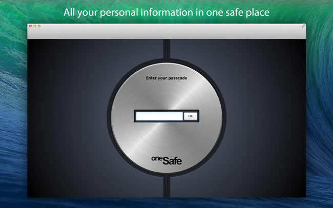 oneSafe Mac安全工具 V2.1.2 官方版界面图1