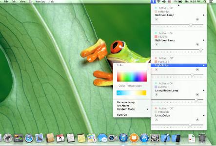 Hue Menu for Mac V2.9.7 官方版界面图1