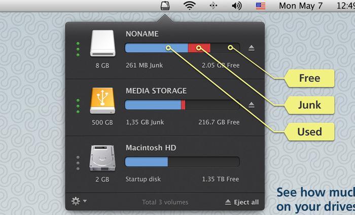硬盘清理_CleanMyDrive mac v2.1.3 官方版界面图2