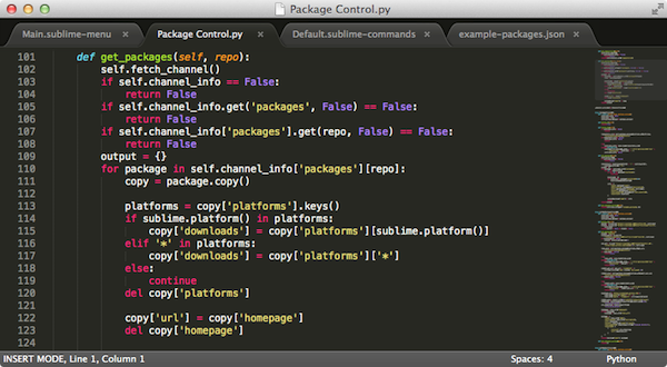 Sublime Text 3 Bulid v3126 mac免费版界面图1