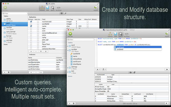 SQLite Professional  V1.0.101  mac版界面图1