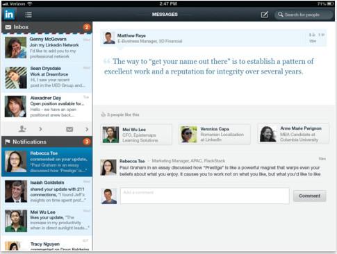 LinkedIn  V1.12.1 iPad/iPhone最新版界面图3