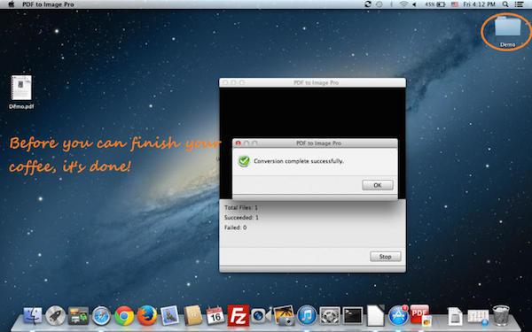 PDF to Image  V3.3.13 Mac版界面图2