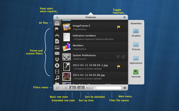 Trickster V2.6  mac版界面图1