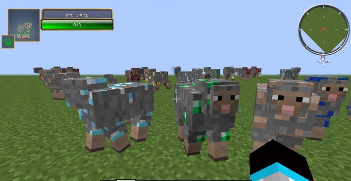 我的世界矿物羊mod v1.7.10 汉化版