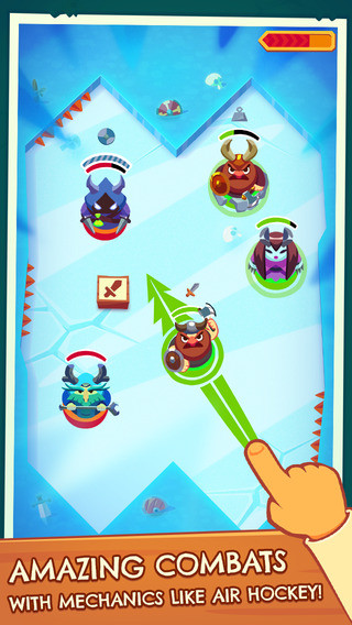 滑动作战iPhone版预览图