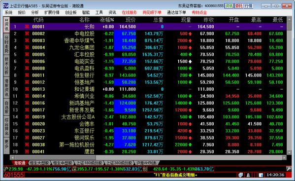 东吴证券界面图1