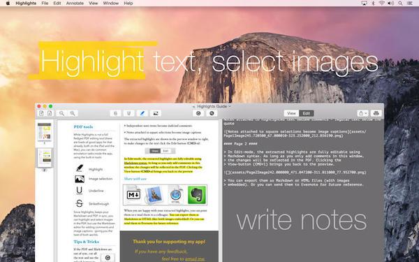 Highlights Mac版 V1.5.1 免费版界面图1