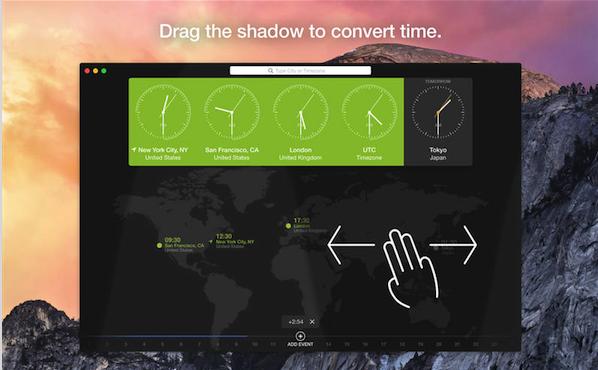 World Clock for V1.3.4 mac版界面图1