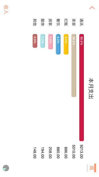 松鼠记账 v2.2.1 iPhone版界面图2