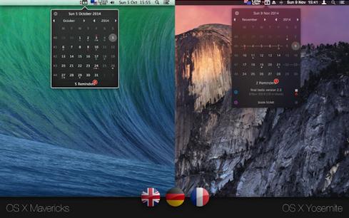 CalendarMenu V3.2.1 Mac版界面图2