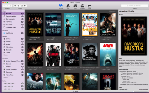 Movie Explorer  V1.7.1  Mac版界面图1