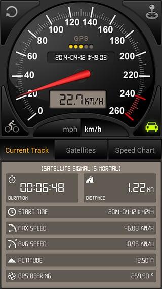 GPS仪表盘 v3.6.81 安卓版界面图1