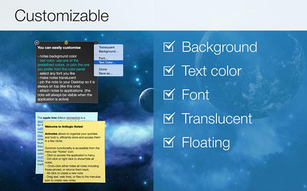 Simple Antnotes for Mac v1.6.1 免费版界面图1