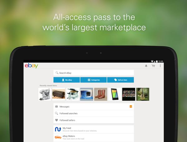易趣eBay  v5.4.0.14  安卓版界面图1