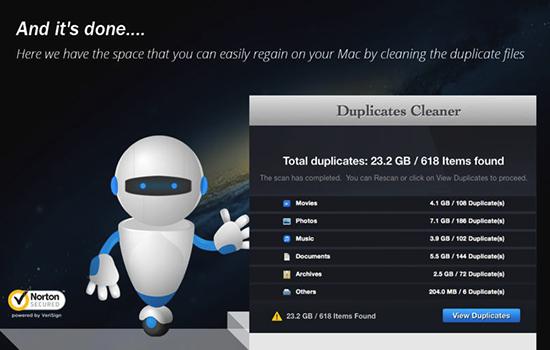 重复清理 v1.2.0 Mac版界面图1
