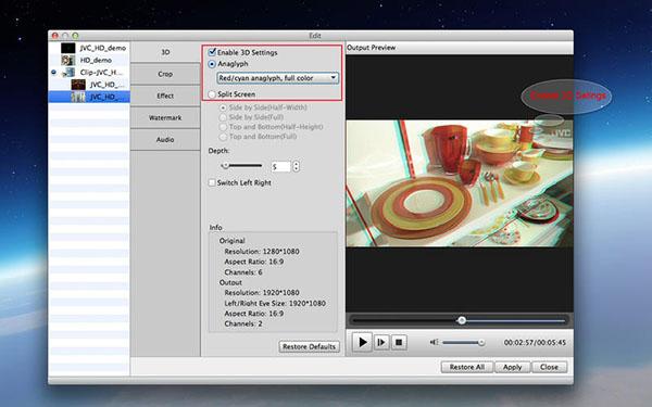 MXF Converter  V6.6.21 Mac版界面图1