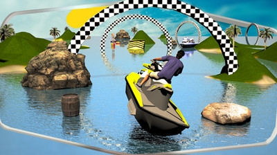 3D极速摩托艇 v2.0 安卓版界面图1