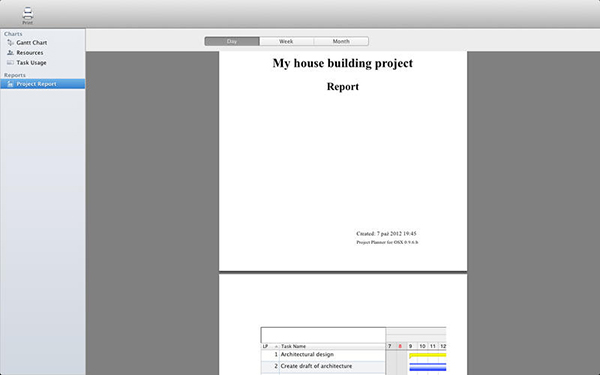 Project Planner  V2.1.1  Mac版界面图1