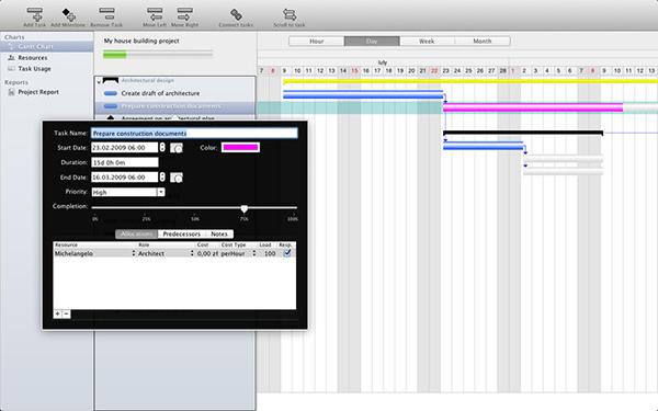Project Planner  V2.1.1  Mac版界面图2