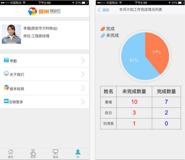 蜂巢物业云app V1.0 iPhone版界面图2