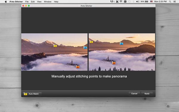 iFoto Stitcher  V2.14.1027  Mac版界面图4