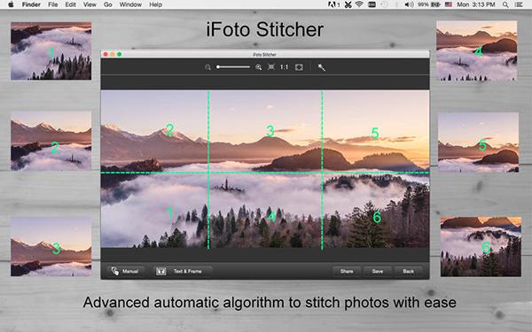 iFoto Stitcher  V2.14.1027  Mac版界面图1