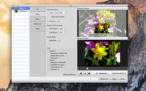 4K UHD Converter V6.5.35 Mac版界面图2