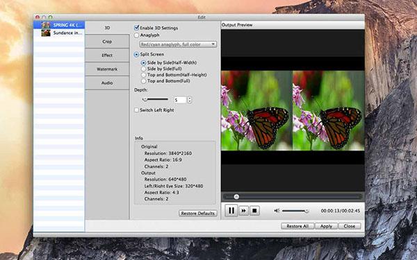 4K UHD Converter V6.5.35 Mac版界面图1