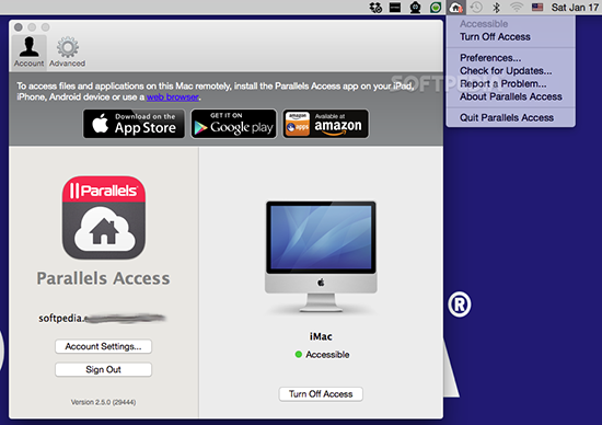 Parallels Access V3.1.6 Mac版界面图2