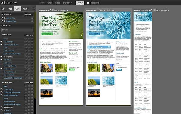 Pinegrow Web Editor V2.94 Mac版界面图1