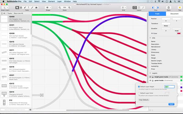 RailModeller Pro V5.3  Mac版界面图1