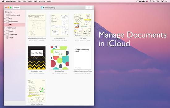 GoodNotes  V1.1.7 Mac版界面图1