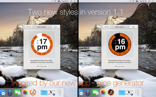 Nice Clock for  V1.5.0  mac版界面图1