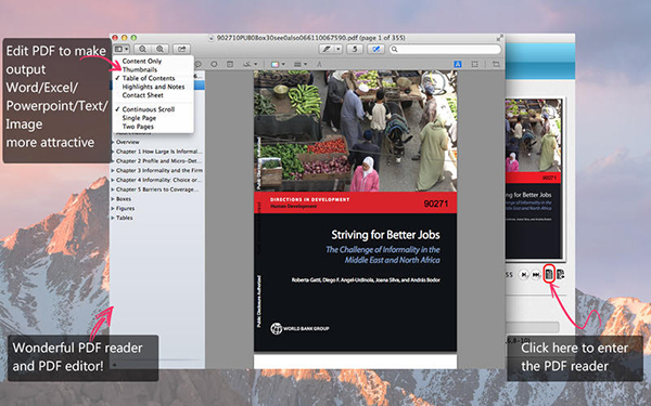 Aiseesoft PDF Converter  V3.3.21 Mac版界面图3