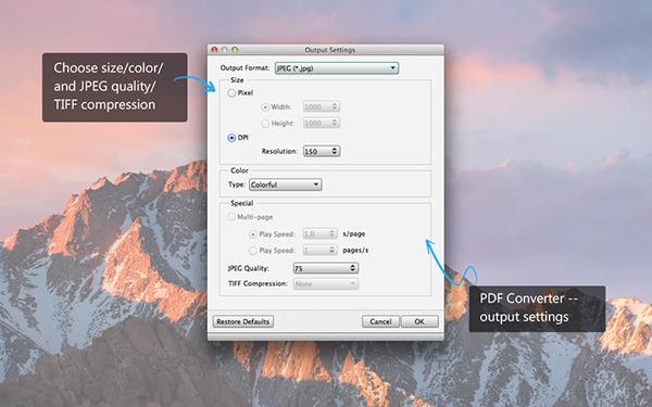 Aiseesoft PDF Converter  V3.3.21 Mac版界面图4