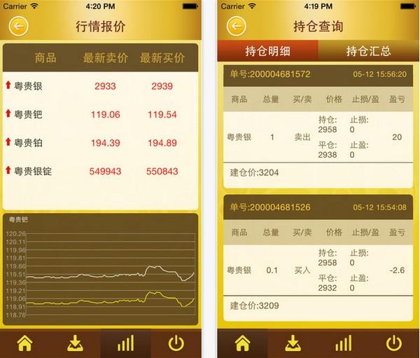 粤贵宝app V1.1.9 iPhone版界面图1
