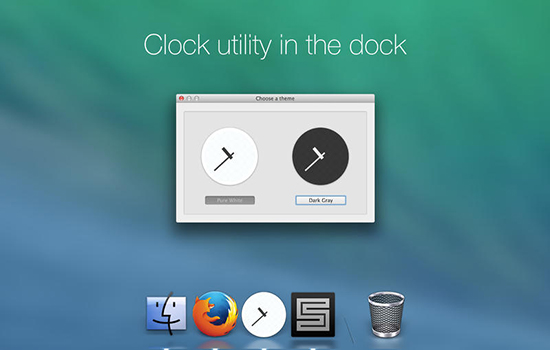 Clock mini v1.0.3 Mac版界面图1