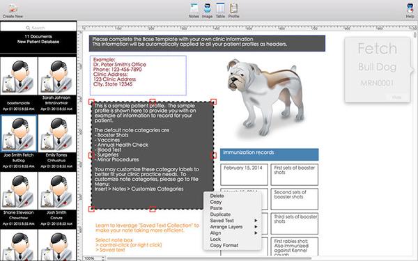我所有的病人兽医版for  V2.80 Mac版界面图1