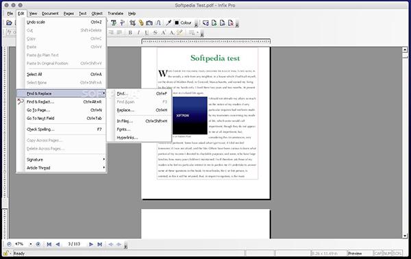 Infix Pro  V7.0.5 Mac版界面图1