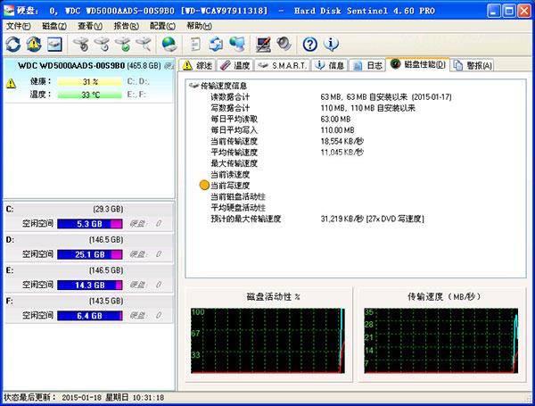 硬盘哨兵中文版界面图1