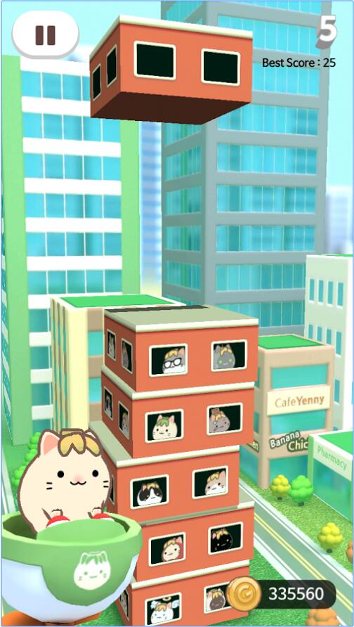 香蕉猫的摩天大厦 v1.028 安卓版界面图3