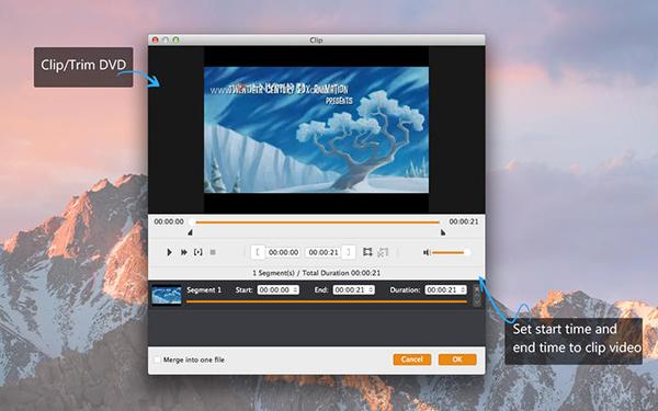 Aiseesoft DVD Ripper V6.5.27  Mac版界面图3