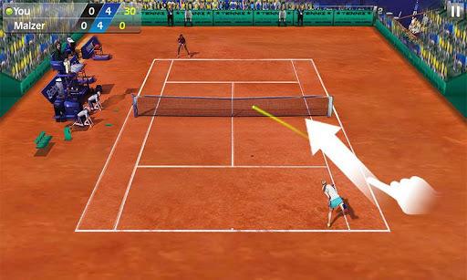 指尖网球3D v1.7.1  安卓版界面图1