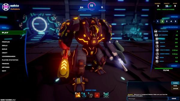 地牢机器人界面图1