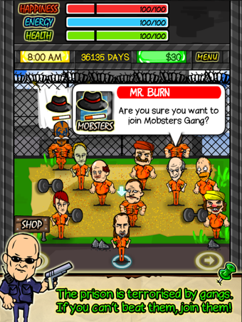 监狱生活电脑版界面图2