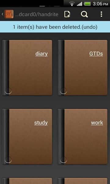 好写笔记 v2.18 安卓版界面图2