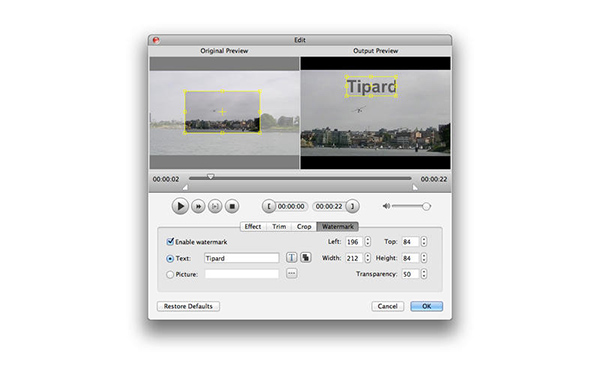Tipard Video Converter for Mac第2张预览图
